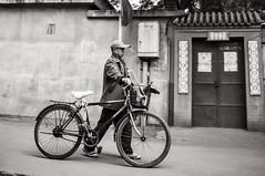 Beijing Hutong 08 (Brian Kushniruk) Tags: street city urban blackandwhite bw white black nikon beijing explore d90 explored