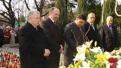 Wiesław Dobkowski i Jarosław Kaczyński