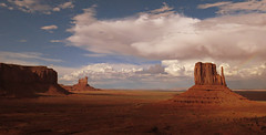 Metallica was up on that butte! () Tags: monumentvalley