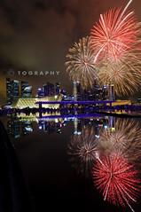 2012 NDP Rehearsal -NE Show 1 (f r e d 001) Tags: reflections nikon fireworks sp tamron d90 f3545 1024mm nationadayrehearsal 2012neshow1