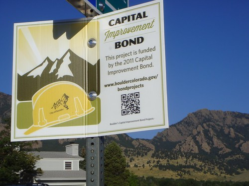 Photo - Capital Improvement Bond Project Signs - Gillaspie Drive