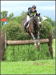 Bramham Horse Trials 2012 (robin denton) Tags: horse fence jump crosscountry riding xc rider equestrian trials hdr equine timing threedayevent eventing eventer bramham oxer bramhamhorsetrials 3dayevent emilygalbraith bramhaminternational fulmartfeeds