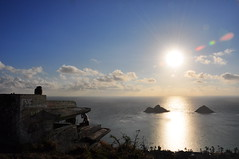 The Full Morning Sun (XJCreations) Tags: sunrise hawaii oahu hiking lanikai bunkers pillboxes kawiaridge