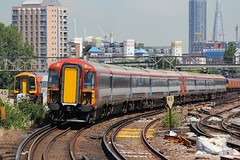 442402 Clapham Junction 18.07.16 (jonf45 - 2.5 million views-Thank you) Tags: electric dc br rail trains junction class multiple emu british express railways clapham 3rd gatwick unit 442 5wes 442402