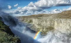 Dettifoss (marko.erman) Tags: dettifoss iceland islande fall waterfall vatnajkullnationalpark sony power powerfull grandiose impressive gigantic rainbow