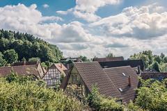 Schwallenberg (pietart photographie) Tags: schwallenberg landschaften dorf outdoor farbe hdr photoshop pietart sonne wolken dcher fachwerk alt
