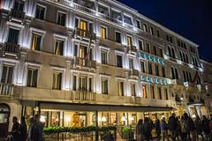 Venice - Hotel Londra Palace Riva Degli Schiavoni (Le Monde1) Tags: italy venice unesco worldheritagesite lemonde1 nikon d610 veneto canals fondamenta calle city water palazzo art architecture hotel londrapalace rivadeglischiavoni