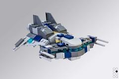 Scavenger (Cole Blaq) Tags: coleblaq starwars freemakeradventures scifi spaceship starfighter microscale