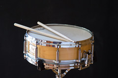 Snare drum (YannickWhee) Tags: snare drum pearl remo music drums indoor sticks instruments