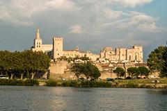Palais des Papes - Avignon - [Vaucluse] (Thierry CHARDES) Tags: notredamedesdoms sigma1750mmf28 palaisdespapes remparts provence vaucluse comtat venaissin avignon france rhône papauté popes papes cathédrale