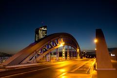 Golden bridge! (Splitti68) Tags: splittstser splitti splitti68 splittstoesser deutschland germany hessen frankfurtammain frankfurt ezb brcke