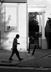Kilburn, London August 2016 (S.R.Murphy) Tags: aug2016 fujix100t kilburn london fujifilmx100t socialdocumentary street streetphotography blackandwhite monochrome bw art smoker smoking silouette