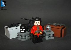 Deadshot (The_Lego_Guy) Tags: lego deadshot floyd lawton guns masks balaclava dc comics the guy thelegoguy custom minifigures minifigs