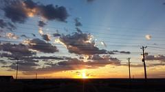 20160824_192924.jpg (stellardot) Tags: samsung galaxy s4 phone mobile device sgh m919 desert sunset crepuscular rays