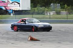 Miata Drifting (Find The Apex) Tags: nolamotorsportspark nodrft drifting drift cars automotive automotivephotography mazdamx5miata mazdamiata eunosroadster mazdaroadster