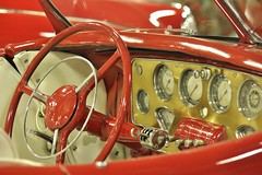 Don Laughlin's Classic Car Collection (USautos98) Tags: 1937 cord convertible interior