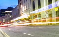 Night traffic (GlobeWalkers) Tags: london st paul trails traffic city night