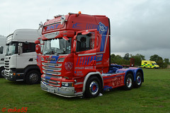 Scania R580 'Stuart Nicol Transport' reg N55 SNT (erfmike51) Tags: scaniar580 artic truck v8 lorry stuartnicoltransport swedefest2016