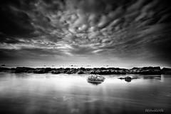 Sick love _ (david galliez) Tags: mer plage nuage ciel noiretblanc poselongue nikond700