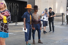 New York Fashion Week September 2016 (zaxouzo) Tags: nyfashionweek nyfw 2016 september streetstyle models clothes people nyc nikond90 fashion skylight hats