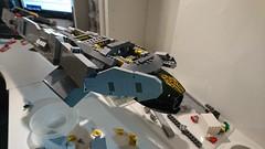 SHIPtember Exodus CB WIP (lingonfil) Tags: shiptember swebrick 2016 lego scifi ship space spaceship microscale microspace communitybuild exodus