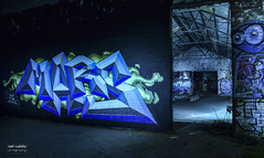 Graff Factory (neil rushby photography) Tags: light painting grafitti lasers mars graff factory blades silhouette