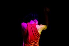 Dancer #1 (Duccio Teufel) Tags: menorca spain balearicisland summer september canon 5d markiii dance flamenco arab red blue orange woman girl hair movement