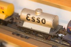 Esso model train car (quinet) Tags: belgien belgique belgium brussels brusselstoymuseum bruxelles brssel eisenbahn esso lemusedujouetdebruxelles spielzeug zug chemindefer jouets rail toys train