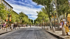 Cours Mirabeau (lubats) Tags: aixenprovence coursmirabeau france provence francia provenza hdr sony ilce 5100 169 hdraward sonysti sonyflickraward street colors colori viale trees autofocus flickraward summer travel holidays perspective prospettiva