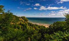 The Bluffs (Yewbert The Omnipotent) Tags: toronto canada lightroom city urban nikon d750 landscape lake sky clouds light trees vibrant colourful