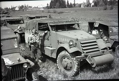 57th Infantry Brigade 600dpi 038 (rich701) Tags: vintage old negatives ww2 military 1940s blackandwhite worldwartwo bw 44thinfantrydivision newjerseynationalguard 57thinfantrybrigade ng njng fortdix nationalguard newjersey nj njarng