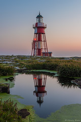 DSC_2323_1024 (Vrakpundare) Tags: sweden sverige vstkusten westcoast lighthouse sunset fyr solnedgng reflections spegling bohusln