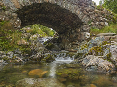 Packhorse Bridge (Ian M Bentley) Tags: ashnessbridge derwentwater keswick cumbria lakedistrict packhorsebridge wallacrag nationaltrust olympusomd em5ii zuikopro1240mm tripod traditional stone built bridge singletrackroad borrowdaleroad b5289 watendlath september autumn clear crystal waterfalls