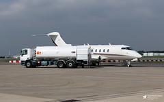 Photo of CS-CHC Bombardier BD-100 Challenger 350, NetJets Europe, Bristol Lulsgate, Somerset