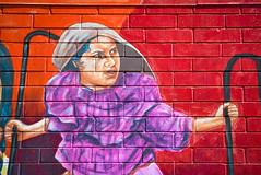 Adelita (Jude Z) Tags: street portrait woman history mexicana train mexico mural war 18th icon pilsen legendary revolution hero powerful adelitas adelita