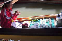 Floating Market Vendor (shutupbecky) Tags: travel thailand amazingthailand shutupbecky