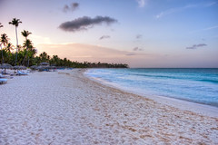 Punta Cana Beach Sunset (todd landry photography) Tags: sunset beach landscape nikon dominican republic punta cana hdr d700