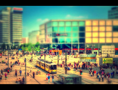 Small Things (Marcus Klepper - Berliner1017) Tags: people berlin germany toy colorful place shift alexanderplatz tilt hdr tiltshift worldtimeclock