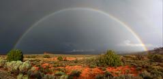 Rainbow Pano (P Czarnecki) Tags: utah arch canyon moab canyonland