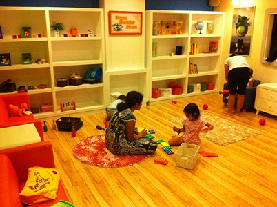 Kidzania Residential - living room