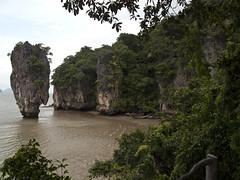 James Bond Island (Loïc Romer) Tags: cliff mountain canon thailand island james asia bond krabi g10 crabi uploadedviaflickrqcom