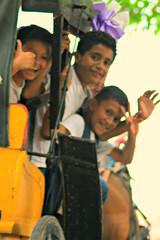 Granada Kids (davecurry8) Tags: kids carriage granadanicaragua lacalzada