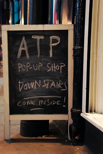 ATP Pop-Up Shop