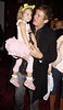 Shane Richie with his daughter Lolita 'Shrek The Musical' first anniversary performance held at Theatre Royal - Inside London, England