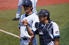DSC01378 (shi.k) Tags: 横浜スタジアム 横浜ベイスターズ 120511 イースタンリーグ 高森勇気 松下一郎