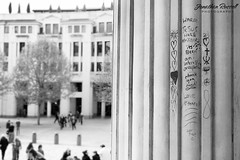 Religions (Jonathan.Russell) Tags: people blackandwhite london lines architecture canon graffiti worship god pillar stpaulscathedral religions 40d jonathanrussell jonooter