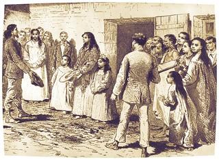 el explorador Pinart en 1877 se entrevista con la Reina de Rapa Nui, Ariki Henua
