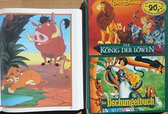 2x Buch Der Knig der Lwen - PUMBAA (Stepas-piglets) Tags: buch book pig books pigs schwein piglets bcher schweine kinderbuch