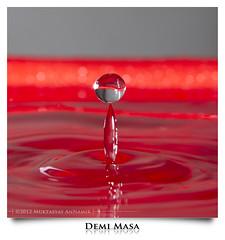 HAPPY WEEKEND | Demi Masa (AnNamir c[_]) Tags: red water canon drops air kitlens malaysia 7d getty editorial splash waterdrops 580ex merah 580 18135 titisan strobist percikan annamir muktasyaf ringexcellence dblringexcellence tplringexcellence eltringexcellence lantunan