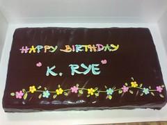 เค้ก..วันเกิดนาย